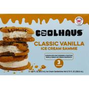 Coolhaus Ice Cream Sammies, Classic Vanilla