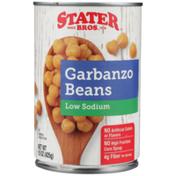 Stater Bros Low Sodium Garbanzo Beans