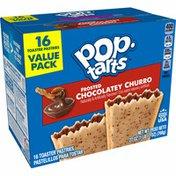 Kellogg's Pop-Tarts Toaster Pastries, Breakfast Foods, Baked in the USA, Chocolatey Churro