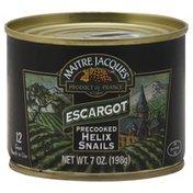 Maitre Jacques Helix Snails, Precooked, Escargot