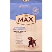 NUTRO Max Large Breed Puppy Natural Chicken Meal & Rice Recipe Dog Food