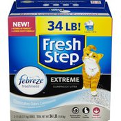 Fresh Step Cat Litter, Scoopable, Extreme Odor Control