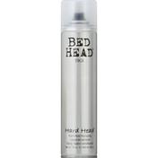 Tigi Bed Head Hairspray, Hard Hold, Hard Head