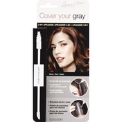 Cover your gray Temporary Hair Color, 2-in-1 Applicator, Black