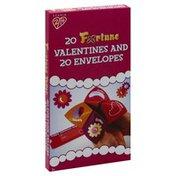 Studio 2/14 Cards and Envelopes, Valentines, Fortune