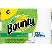Bounty Paper Towels, White Bounty Paper Towels, White