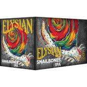 Elysian Snailbones IPA Beer Cans