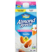 Almond Breeze Almond Beverage, Vanilla, Unsweetened