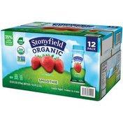 Stonyfield® Organic Organic Strawberry Smoothie