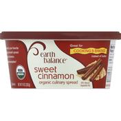 Earth Balance Culinary Spread, Organic, Sweet Cinnamon