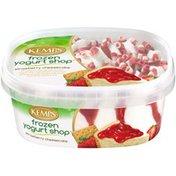 Kemps Strawberry Cheesecake Frozen Yogurt