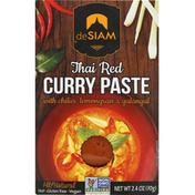 deSiam Curry Paste, Thai Red, Hot