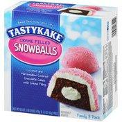 Tastykake Creme Filled Snowballs