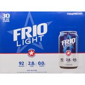 Frio Beer, Light, 30 Pack