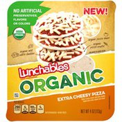 Lunchables Organic Cheese Pizza Convenience Meal