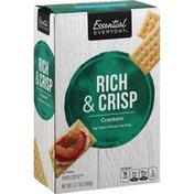 Essential Everyday Crackers, Rich & Crisp