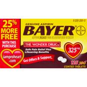 Bayer Genuine Aspirin 325mg