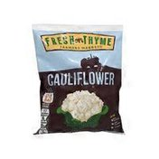 Fresh Thyme Cauliflower Florets