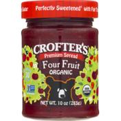 Crofter's Premium Spread Four Fruit Organic