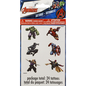 Unique Tattoos, Marvels Avengers, 4 Sheets