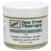 Tea Tree Therapy Chest Rub, Eucalyptus