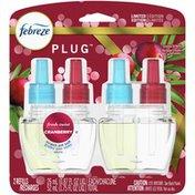 Febreze Odor-Eliminating Fade Defy Air Freshener Refill, Fresh-Twist