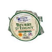 Isigny Sainte-Mère Unsalted Butter in Basket
