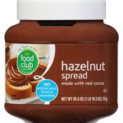 Food Club Spread, Hazelnut