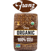 Franz Bread, Organic, 100% Whole Wheat