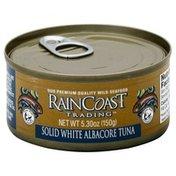 Rain Coast Trading Tuna, Albacore, Solid White, Can