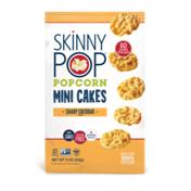 SkinnyPop Popcorn Mini Cakes, Sharp Cheddar