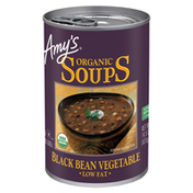 Amy's Kitchen Organic Black Bean Vegetable Soup, Low Fat