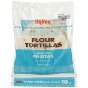 Hy-Vee Flour Fajitas Tortillas