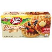 Shurfine Homestyle Waffles