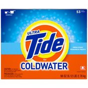 Tide Ultra for Coldwater Powder Fresh Scent Laundry Detergent