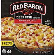 Red Baron Pizza, Deep Dish Singles Hawaiian Style