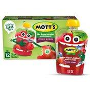 Mott's Mixed Berry Applesauce