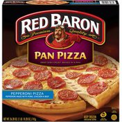 Red Baron Pepperoni Pan Pizza