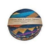 Reclaimed Wool Coasters