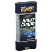 Right Guard Anti-Perspirant Deodorant, Cool, Clear Gel