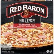 Red Baron Thin & Crispy Crust Bacon Lovers Pizza