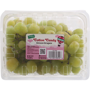 Signature Farms Green Grapes, Cotton Candy