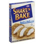Shake 'N Bake Seasoned Coating Mix, for Chicken or Pork, Ranch & Herb Crusted