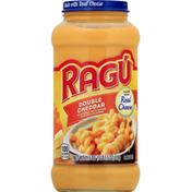 Ragu Sauce, Double Cheddar