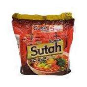 Samyang Sutah Ramen Hot & Spicy Flavor