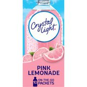 Crystal Light Pink Lemonade Naturally Flavored Powdered Drink Mix