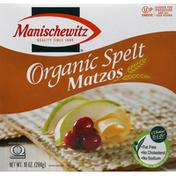 Manischewitz Matzos, Organic, Spelt
