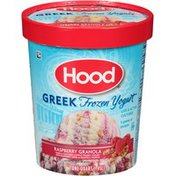 Hood Raspberry Granola Greek Frozen Yogurt