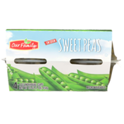Our Family Microwaveable Low Sodium Sweet Peas