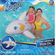 H2o Go! Ride-On, Pink Whale
